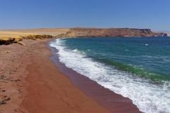 Czerwona plaża | The Red Sand Beach