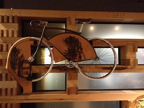 Bike and timber in Nishi Hotel Hotel