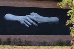 Czarnobyl (RW-V) Tags: canoneos70d canonef50mmf18ii apeldoorn havenpark netherlands nederland paysbas niederlande mural urban streetart czarnobyl hands lesmains hände sooc 80faves 100faves 120faves 150faves 175faves 200faves