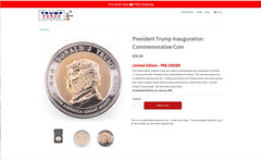 President Trump Inauguration Commemorative Coin (The Devils in the Details) Tags: donaldtrump buffalo ny cia gop isis commemorativecoin vladimirputin sexdrugsandrockandroll hillaryclinton plannedparenthood bigot dumptrump thewalkingdead republican pedophile mikepence nastywoman badhombre conservative rape riencepriebus donaldmcgahn stevenbannon frankgaffney jeffsessions generaljamesmattis generaljohnkelly stevenmnuchin andypuzder wilburross cathymcmorrisrodgers trumpforpresidentbobblehead madcowdisease ktmcfarland mikepompeo nikkihaley betsydevos tomprice scottpruitt seemaverma gorilla marriageequality kukluxklan daryldixon downtonabbey newyorkcity melaniatrump riggedelection jihad terrorist taliban carlpaladino mexicanwall racism confederateflag nazi islam freedom berniesanders americannaziparty thebeatles therollingstones democrat civilrights tednugent boycotttarget contraception abortion tinfoilhatsociety michelleobama she'sacunt foxnews russia liberal