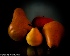 Day 3/365 Fruit (Tewmom) Tags: fruit stilllife light 365the2017edition 3652017 day3365 3jan17 blackbackground food