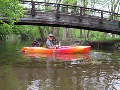 Minnehaha Creek (Minnesota Adventure Co) Tags: kayak kayaking minnehaha creek minnesota minneapolis minnesotaadventureco kayaktour