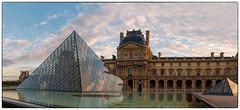 Louvre Sunrise (s.j.pettersson) Tags: sjpettersson louvre sunrise pyramid paris
