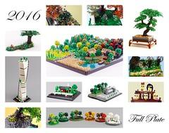 2016 (Emil Lidé) Tags: lego moc new year 2016 summary