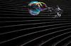 Bursting Bubbles // Hamburg (//Sebastian) Tags: black white color colorful bubbles soap water lines line step steps stair stairs staircase thin liquid burst bursting curves curvy curve hamburg germany hafencity elphi tribüne wet winter januar rainbow candy
