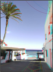 Las Negras (Daniel Solbas, fotografia estereoscopica) Tags: grotte spéléologie stereoscopic estereoscopica anaglifo anaglyphs anaglifi andalucia turismo españa stereophoto 3d pokescope almeria sanjose lasnegras playas
