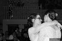 First dance (CarolAnn Photos) Tags: aynho greatbarn helenandjess november2016 wedding bride brides firstdance