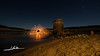 Molino de fuego (Luis Cortés Zacarías) Tags: aceña flores noche embalse agua lana acero barro chispas estrellas esposición larga