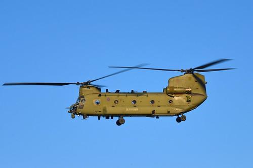 RAF Boeing Chinook HC6 ZK557