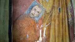 Kneeling figure with living halo, Theodotus Chapel, c. 741-752Santa Maria Antiqua, Rome