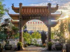 Sam Poh Footprint Temple (Ah Wei (Lung Wei)) Tags: penang penangisland georgetown pulaupinang malaysia georgetownpenang sunrises sunrise landscape nikon50mmf18g 50mmf18g nikond750 nikon ahweilungwei secondpenangbridge penangsecondbridge batumaung temple fishermenwharf sampohtemple