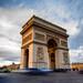 Arc du Triomphe (ijpears) Tags: monument arc du triomphe paris rance france sunset evening street city landscape architecture