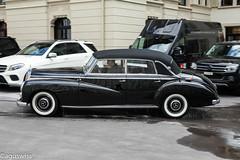 1952 Mercedes-Benz 300 (Adenauer Mercedes, W186, Cabriolet D) (aguswiss1) Tags: w186 1952mercedesbenz300adenauermercedes cabrioletd 1952 mercedesbenz 300 adenauer mercedes mercedesclassic classiccar