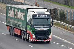 Eddie Stobart 'Mae Rose' (stavioni) Tags: esl eddie stobart truck trailer volvo fh fh4 460 lorry mae rose h4739 kx66ndu
