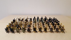Modern Military figures (Project Azazel) Tags: modernmilitary cb brickarms legomilitaryfigures customlego legocustomfigures citizenbrick specialforces rangers deltaforce navyseal swat marines