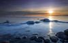 Under the sun (Mika Laitinen) Tags: balticsea canon5dmarkiv finland helsinki lauttasaari leefilters scandinavia suomi cliff cloud colorful ice landscape longexposure ocean outdoor rock sea seascape shore sky snow sunset winter uusimaa fi
