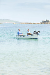 scilly-tresco-couple-dogs-boat-7-anthonygreenwood (The official guide to the Isles of Scilly UK) Tags: tresco islesofscilly
