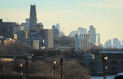 IMG_0647 (kz1000ps) Tags: newyorkcity nyc manhattan urbanism cityscape architecture washingtonheights hudsonriver newjersey palisades fortlee afternoon sunset february riversidedrive
