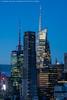 Blue Compression (20170224-DSC06266-Edit) (Michael.Lee.Pics.NYC) Tags: newyork aerail timessquare dumonthotel architecture cityscape night twilight bluehour compression 400fifthavenue bankofamericatower 4timessquare hm sony a7rm2 70300mmf