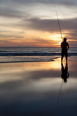 _MG_1692 (treilmann) Tags: beach fisherman seminyak sunset bali fishing