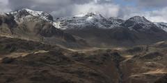 The Scafell Range with Snow (Nick Landells) Tags: scafell scafellpike broadcrag illcrag riveresk eskdale uppereskdale winter snow lakedistrict