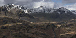 The Scafell Range with Snow