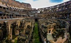 Coliseum Inside (SuecoBetto) Tags: betto suecobetto canon camera photography travel europe italia italy rome europa view from colisseum gladiators battle center public place turistic landscape