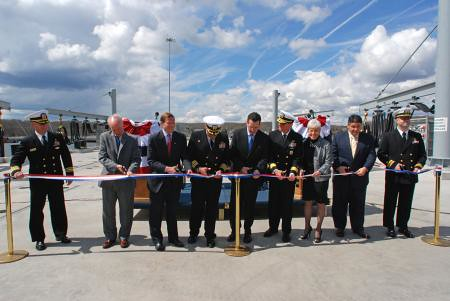 Pier 31 Ribbon Cutting