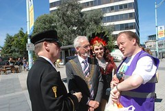 "Lord Mayor of Plymouth at Plymouth Pride Parade 2015-1 • <a style=""font-size:0.8em;"" href=""http://www.flickr.com/photos/66700933@N06/20007907014/"" target=""_blank"">View on Flickr</a>"