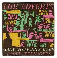 Gary Gilmore's Eyes - Front (Brett Jordan) Tags: vinyl 45 brett single record singlecover boredteenagers theadverts garygilmoreseyes brettjordan anchorrecords httpx1brettstuffblogspotcom anc1043