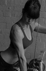 Kiko and her strength (etrephotographe) Tags: war published lift box models dream kiko strength combat fitness gym sort weight