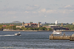 View of Ellis Island (US Department of State) Tags: newyorkcity newyork historic immigrants helicopters ellisisland newyorkharbor