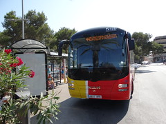 T.I.B. 100 (Coco the Jerzee Busman) Tags: bus coach spain mallorca emt majorca tib