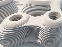 zaha hadid - galaxy soho, beijing, china (Alexey Tyudelekov) Tags: building architecture model soho petersburg exhibition plastic galaxy hermitage zaha hadid zahahadid