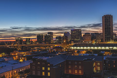 From the RVA Rooftops (Joey Wharton) Tags: city sunset rooftop skyline virginia downtown richmond rva