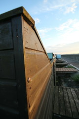 IMG_2225 (Crab2222) Tags: blue sunset sky food sun beach yellow cloudy wide sunny wideangle bluesky kites beachhuts frinton frintononsea skatteredclouds