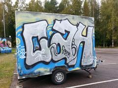 Chrome, chrome, chrome... (Thomas_Chrome) Tags: street streetart streets art suomi finland graffiti europe can spray chrome illegal nordic walls tampere