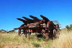 old wagon (Con_Pyro) Tags: australia outback southaustralia arid fuij eyrepeninsula gawlerranges xpro1 conpyro