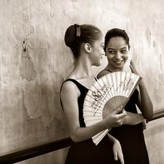 Girls With A Fan