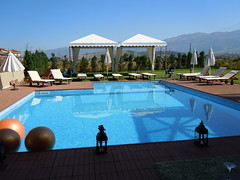 Ioannina, Greece (ForceMajeureMontenegro) Tags: pool hotel greece griechenland ioannina grka goldensuitesspa