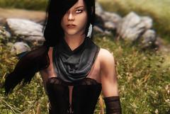 Mathilde (rinjasofia) Tags: graphics character screenshots gaming rpg videogame tes oc enb skyrim screenarchery
