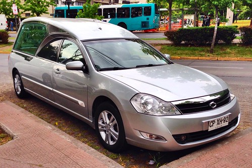 Renault Samsung SM5, Corona Hearse (Chile) - Santiago, Chile