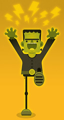 Frankenstein    finished (Ivy Nunes) Tags: classic monster illustration movie frank mary dessin frankenstein horror terror illustrator monsters filme shelley vector ilustrao desenho icone ilustracion vetor zeichnung monstro desenhando classico desenhar vetorizao illustrazione teikna