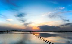 2015-04-12_Mirrors (Francesco Virz) Tags: sunset sea wallpaper lake landscape mirror nikon tramonto salt mirrors mole mozia mothia motia