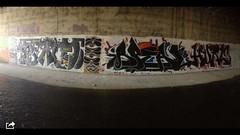 Leith River with Apeal, Hurls & Hcter (ViSiON (NZ)) Tags: streetart graffiti vision tic graffitiart talkischeap burga nzstreetart dunedingraffiti dunedinstreetart nzgraffiti nzgraffitiart dunedingraffitiart streetartdunedin