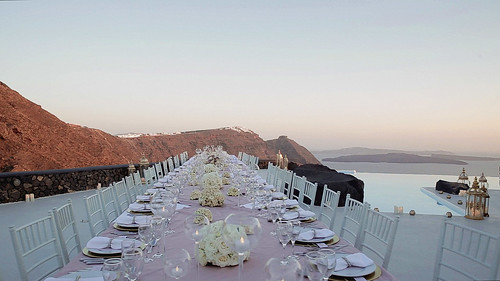 22824004023_42b19bd042 Catholic Wedding in Santorini: wedding video to Cycladic