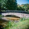 Footbridge In The Park; Manhasset, New York (hogophotoNY) Tags: bridge ny newyork 120 foot us holga 120film holgamods manhasset deluxestealthholga