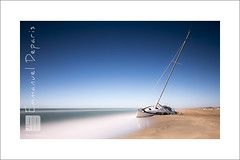the survivor sailboat (Emmanuel DEPARIS) Tags: mer france beach nikon filter lee wreck secours plage emmanuel voilier pave chou deparis d810 meditrane