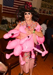 2015 Occasional Doo Dah Parade: Pink Flamingos (Billy Bennight) Tags: california girls camp music usa silly sexy toy bush furry funky beaver hollywood devil furries roseparade hotgirls instruments doo dah campy pinkflamingos doodah morebeer doodahparade toyinstruments circuitbenders bendrs