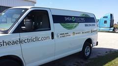 Signarama Fond du Lac, WI | Vehicle Graphics | Sheae Eectric Van